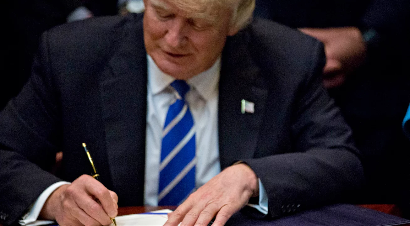 President Trump signed the repeal of the internet privacy rules