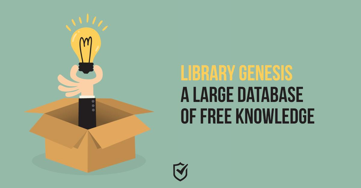 Library Genesis — A Large Database of Free Knowledge   VPN